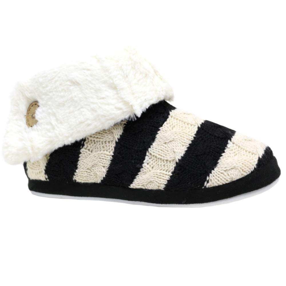 Ladies Slippers Women Girls Winter Warm Fur Thermal Luxury Ankle Boots  Bootie S(3/4) M(5/6) L(7/8): Amazon.co.uk: Shoes & Bags