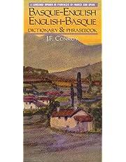 Basque-English/English-Basque Dictionary & Phrasebook