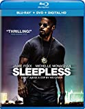 Sleepless (Blu-ray + DVD + Digital HD)