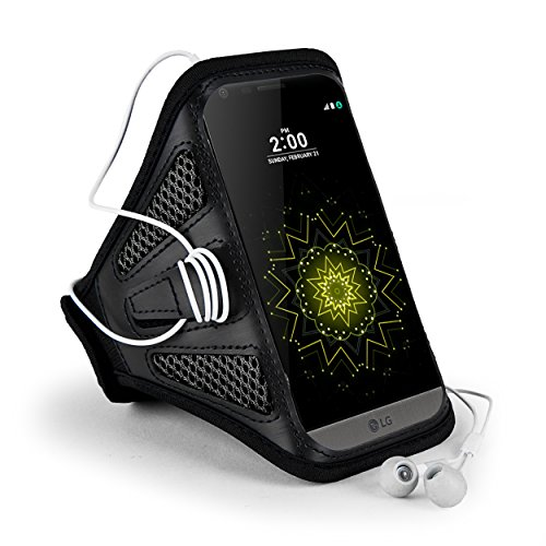 Black Mesh Sport Armband (Jlyifan Premium Mesh Running Sport GYM Armband case for LG V20 / LG 5X / X Power / Motorola Moto M / Google Pixel XL / Blackberry DTEK60 / HTC Bolt (Black))