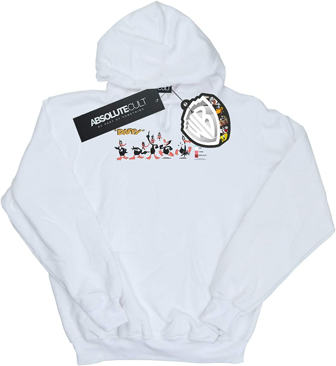 Looney Tunes Girls Daffy Duck Colour Code Hoodie