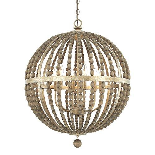 - Capital Lighting 4796TZ Six Light Pendant