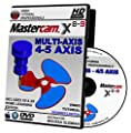 Mastercam X8-X9 MULTI-AXIS 4/5 AXIS BEGINNER Video Tutorial HD DVD