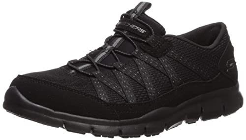 Skechers Womens Gratis-Strolling Sneaker, BBK, ...