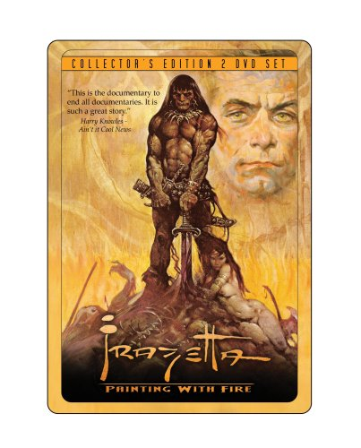 Frazetta Painting With Fire Collectors (Anniversary Edition)