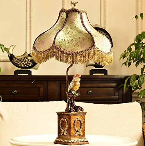 HH European Style Desk Lamp Neo-classical Study Bedroom Bedside Living Room Decoration Table Lamp by FJB (Image #1)
