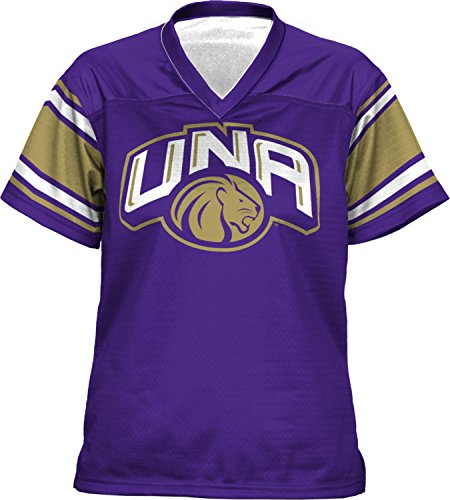Women's University of North Alabama End Zone Football Fan Jersey - Shopping Florence Al