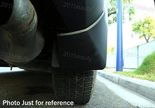 New 4pcs Mud Flaps Splash Guards Fender Mudguard Mud Guards Mudflaps for Lexus ES250 ES350 ES300h 2013 2014 2015 2016 2017 2018 2019 2020