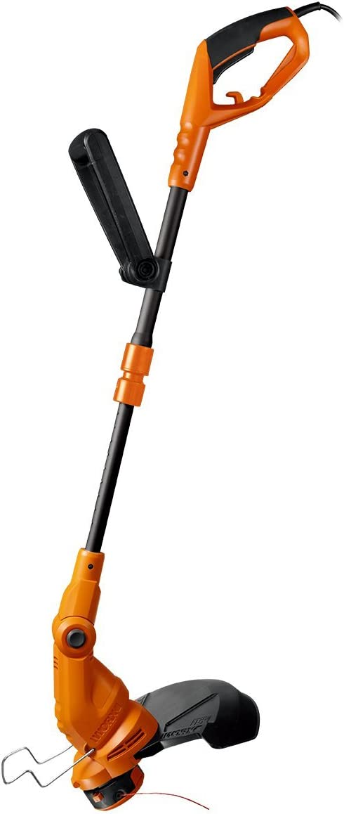 4.9 x 9.2 x 38.6 Orange and Black Worx WG119 15 Electric String ...