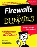 Firewalls for Dummies, Brian Komar and Ronald Beekelaar, 0764508849