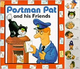 Postman Pat and His Friends: A Tab Index Board Book: Arkadia