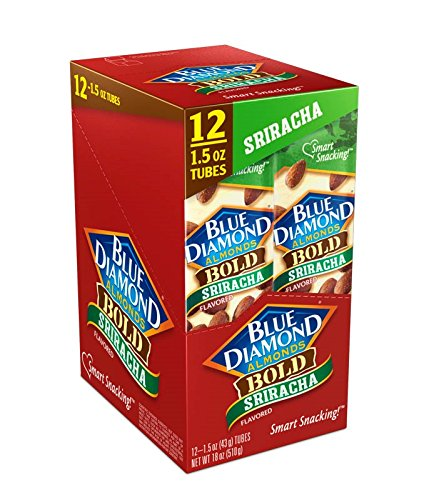 Blue Diamond Almond Growers (Blue Diamond Almonds, Bold Sriracha, 1.5 Ounce (Pack of 12))