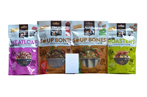 Rachael Ray Nutrish Dog Treats and Soup Bones 4 Flavor Varie