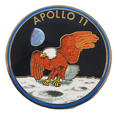 Apollo 11 Lapel Pin Official Nasa Edition