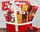 Godiva Pure Decadence Gourmet Food Gift Basket.
