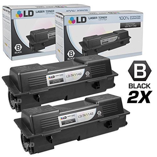 (LD Compatible Toner Cartridge Replacement for Kyocera TK-1142 (Black,)
