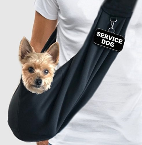 - WORKINGSERVICEDOG.COM EZ-Sling Small Service Dog Sling Carrier