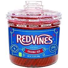 Red Vines Original Red Licorice Twists, 3.5LB Jar
