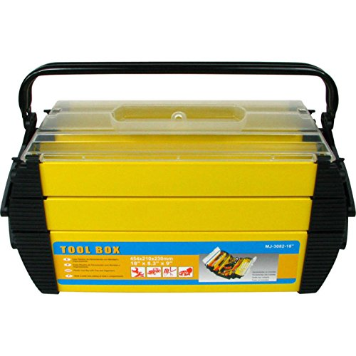 Stalwart Deluxe Steel and Plastic Toolbox Organizer