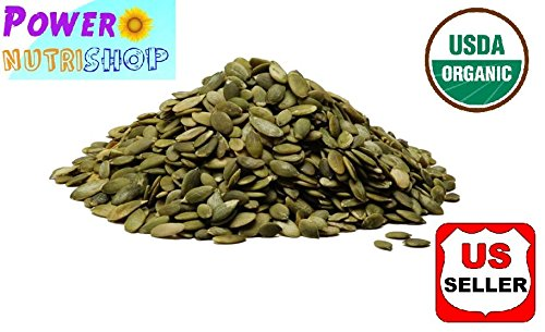 5 Pounds Pumpkin Seeds ALL Natural GROWN ORGANICALLY PREMIUM Raw Shelled Pumpkin Seeds,Pepitas, ()