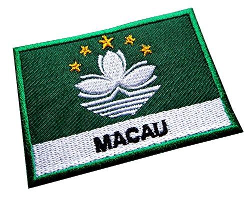 Macau Macao Macanese National Flag Sew on Patch