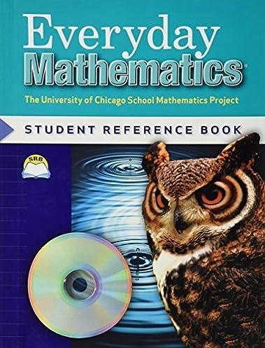 Everyday Mathematics, Grade 5 Student Math Journal, Vol 1