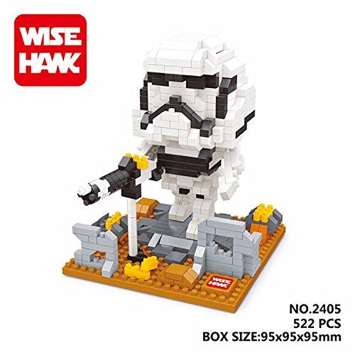 WH 2405 522 Pcs. Action Figures DIY Assemble Master Model Building Blocks Toy Present Gift (Han Solo Costume Diy)