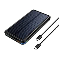 Solar Charger,Dizaul 5000mAh Portable So...