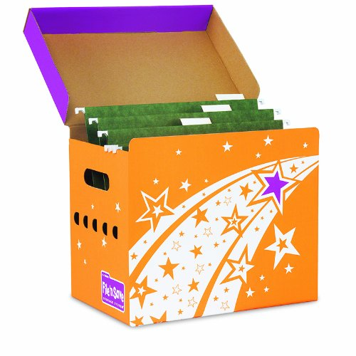 TREND ENTERPRISES INC. FILE N SAVE SYSTEM FILE FOLDER BOX (Set of 6) -  T-7001