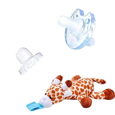 Silikagel - Chupete para recién nacidos de 0 a 12 meses, con ...