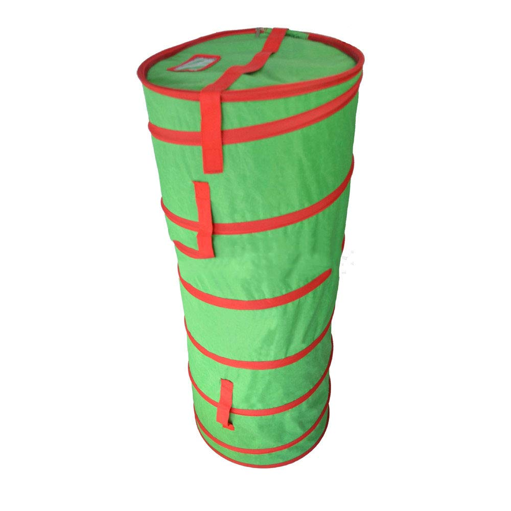 Zippered Green Garden Bucket Green Garden Bucket Green Folding Christmas Bag