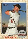 2017 Topps Heritage High Numbers #633 David Peralta Arizona Diamondbacks Baseball Card