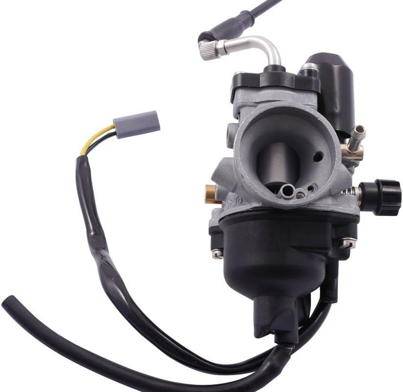 Vergaser Dellorto PHVA 17,5mm LS f/ür Yamaha-Malaguti F10,12//HD:80 ND:38 cod.1389