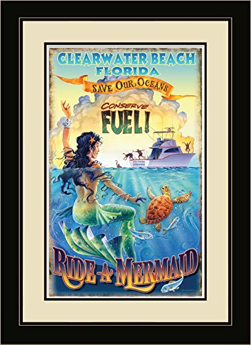 Northwest Art Mall RM Clearwater Beach Florida Framed Wall Art, 13