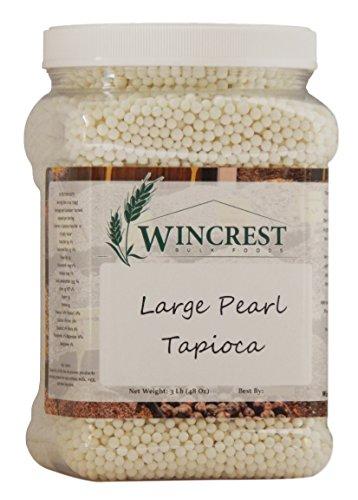 Large Pearl Tapioca - Large Pearl Tapioca - 3 Lb Tub