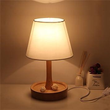 Lámpara de Noche Minimalista Estilo nórdico japonés Lámpara ...