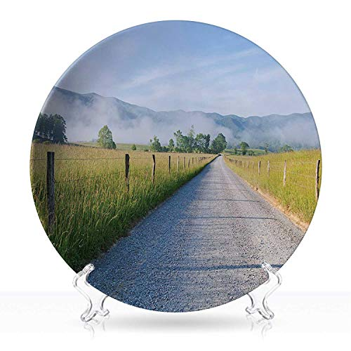 Cades Cove morning in the Smoky Mountains,Dinnerware 101194 Home Decor 6