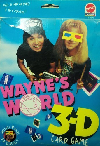 Wayne's World 3-D Card Game