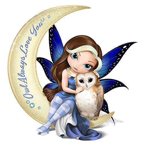 Jasmine Becket Griffith Fairy and Owl Moon Figurine by The Hamilton Collection (Fairies Jasmine Becket Griffith)