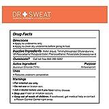Dr. Sweat Antiperspirant Deodorant Pads for