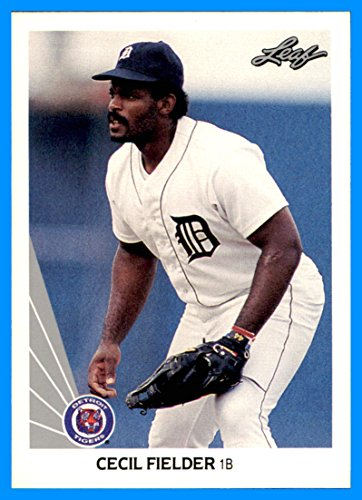 - 1990 Leaf #165 Cecil Fielder TIGERS