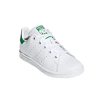 quality design 7cf07 da180 Amazon.com   adidas Junior Sneakers Low BA8375 Stan Smith C Size 28 White  Green   Shoes