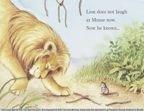 The Lion and the Mouse (Step-Into-Reading, Step 1): Gail