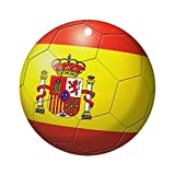 CafePress - Spain Flag Soccer Ball Ornament (Round) - Round Holiday Christmas Ornament