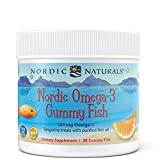 optimal omega 3 - Nordic Naturals - Nordic Omega-3 Gummy Fish, Supports Optimal Brain and Immune Function, 30 Count