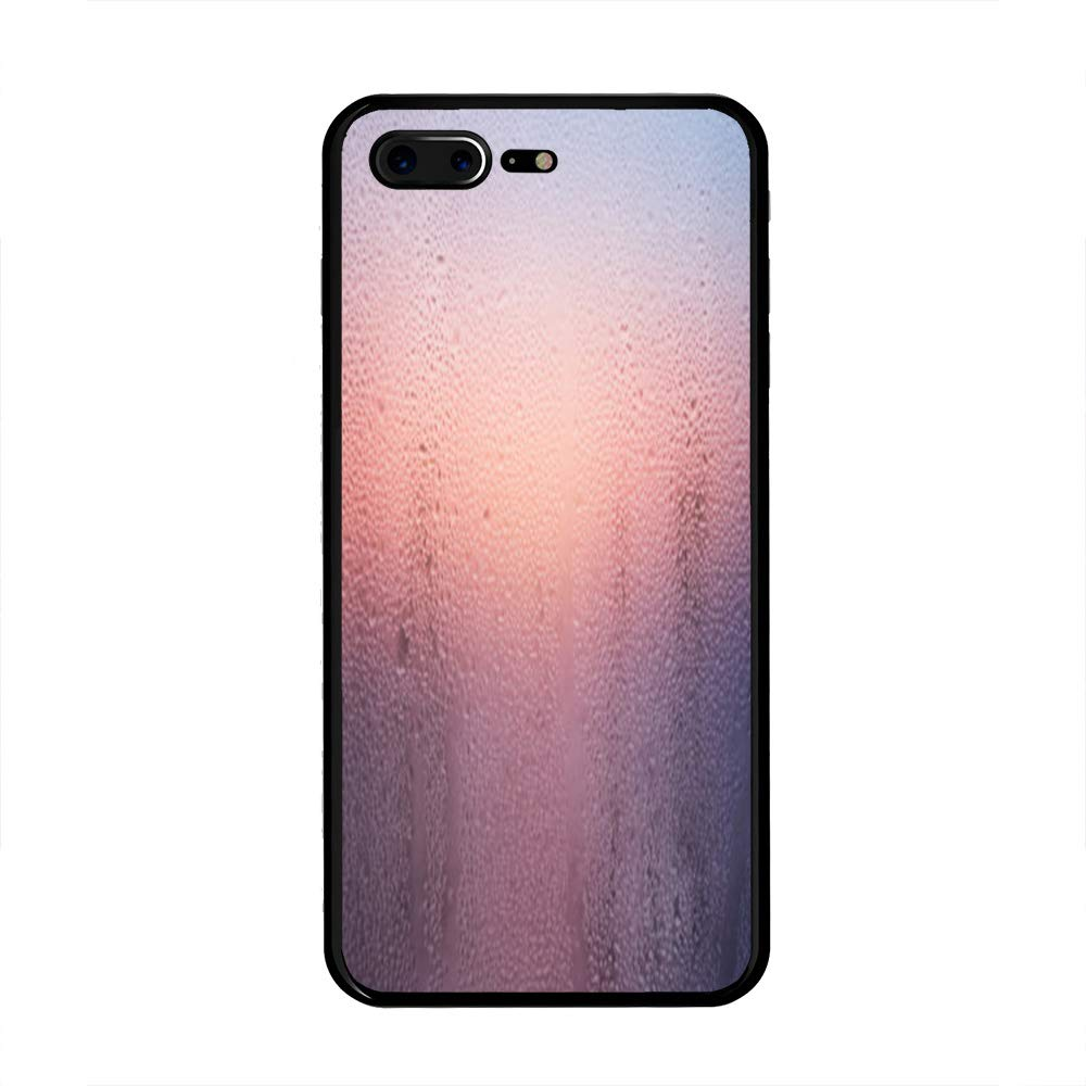 new product 5eeb4 05b65 Amazon.com: iPhone 7 Plus/iPhone 8 Plus Case, Wet Glass TPU ...