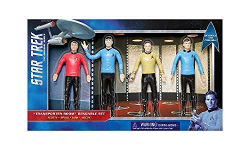 NJ Croce Star Trek Tos: Transporter Room Boxed, Set (Set Transporter)
