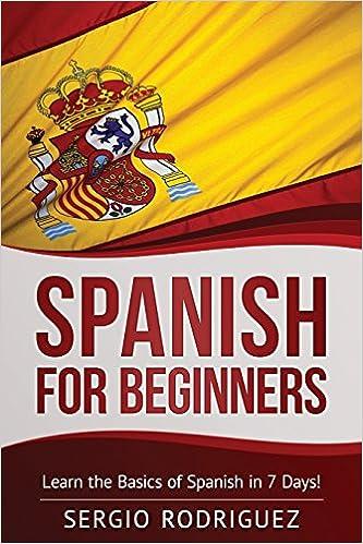 Beginners book for spanish