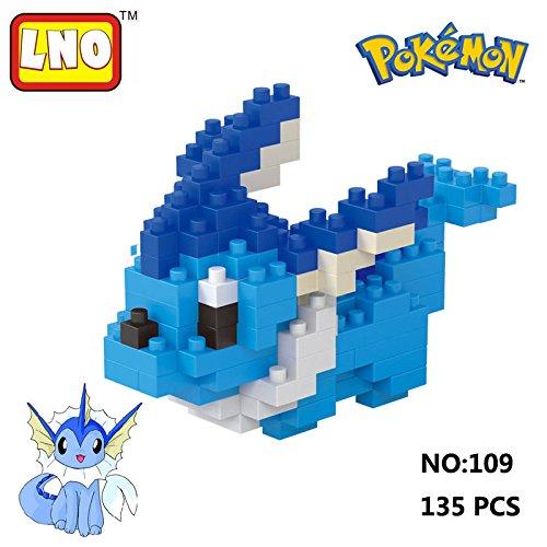 LNO-Anime-Pokemon-Vaporeon-Nano-Block-Diamond-Mini-Building-Toys-Pocket-Monster