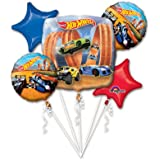 Hot Wheels Racer Bouquet Of Balloons